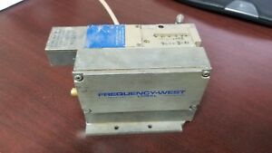 Frequency West Microwave Amplifier oscillator