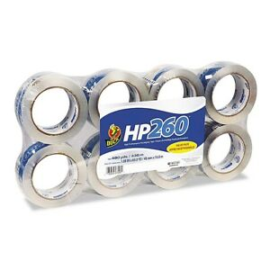 Duck Shipping Sealing Tape Clear 8 Pack