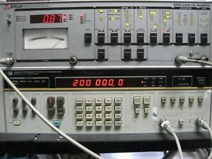 Eg g par signal Recovery 5205 Lock in Amplifier Calibrated 200 Khz Bw 1uv To 5v