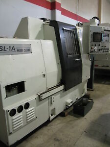 Mori Seiki Sl 1 Cnc Lathe 6 Chuck 12 Station W Tailstock Made In Japan