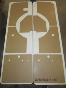 Complete Interior Panel Set Fits Willys Wagon 46 53
