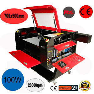 100w Co2 Usb Laser Cutter Engraver Engraving Machine W Regular Rotary Axis