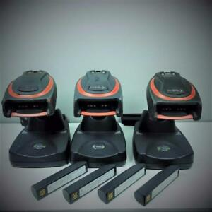 Lot Of 3 Handheld Products Honeywell 4820isre Barcode Scanner 31205481 040