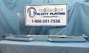 1962 62 Plymouth Belvedere Fury Dodge Dart Wagon Rear Bumper show Chrome