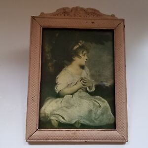 Vintage Painted Wood Frame The Age Of Innocence Reynolds 1920s 1930s