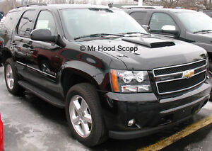 2001 2018 Hood Scoop For Chevrolet Tahoe By Mrhoodscoop Unpainted Hs003