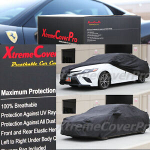 2018 2019 2020 Toyota Camry Breathable Car Cover W mirror Pocket black