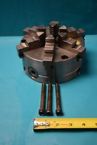 Used Bison 3865 6 1 4 6 Jaw Chuck Made In Poland
