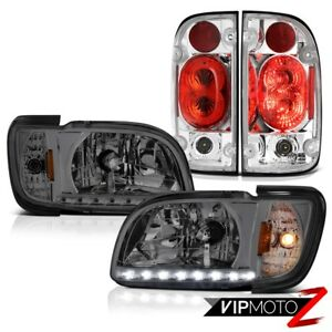 01 02 03 04 Toyota Tacoma Offroad Taillamps Smoked Headlights Bumper Assembly