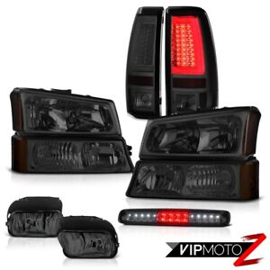 03 04 05 06 Chevy Silverado Tail Lights Fog Signal Lamp Roof Cargo Headlights