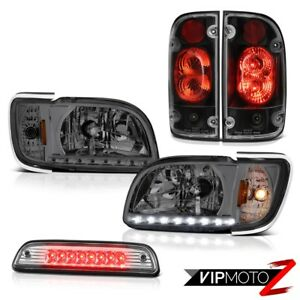 01 04 Toyota Tacoma Prerunner Chrome Roof Cargo Lamp Taillights Headlamps Bumper