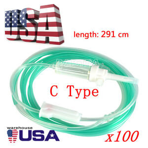 Us 100x Dental Disposable Irrigation Tube Hose To Implant Surgery Handpiece Sale