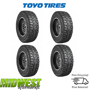 Toyo Open Country R t 37x12 50r17lt Tires Set Of 4