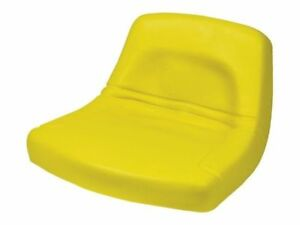 Jd Replacement Seat Low back Steel Pan Style 18 Wide X 10 1 2 Tall Yellow