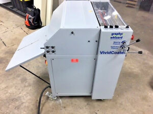 Graphic Whizard Xdc 530 Micro Uv Coater Tec Lighting