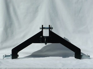 3 Pt Hitch Category 1 Tractor Log Skidder Black Grab Hook Heavy Duty Implement