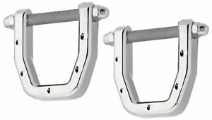 Defenderworx H2pdc06028 Dimpled Rear Tow Hook For Hummer H2 2 Piece New