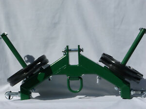 Three Point Hitch Tractor Logging Skidder New Combo Weight Holder Great Deal