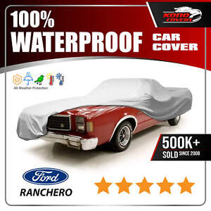 Ford Ranchero Car Cover Ultimate Full Custom Fit All Weather Protect