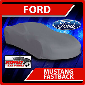 ford Mustang Fastback Car Cover Ultimate Full Custom fit All Weather Protect