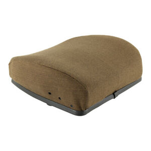 Backrest Hydraulic Or Mechanical Seat Fabric Brown For John Deere 7700 9400 4230