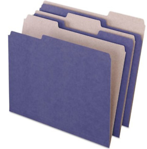 New Pendaflex 04335 Case 5box Earthwise Recycled Violet File Folders 500 Folders