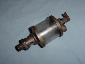 Hit Miss Gas Steam Engine Brass Cylinder Oiler