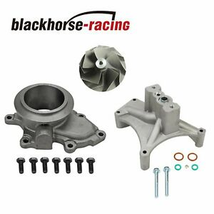 Turbo Pedestal Ebp Delete Kit 5 5 Wheel For 7 3l 99 5 03 Ford Powerstroke Diesel