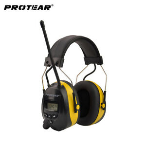 Hearing Protector Am Fm Radio Earmuffs Electronic Ear Protection Shooting Earmuf