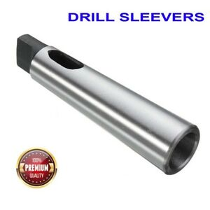 Heavy Grade Morse Taper Drill Sleeves Mt1 mt4 lathes Tool