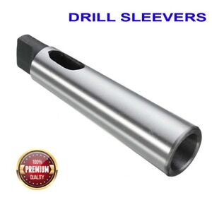 Heavy Grade Morse Taper Drill Sleeves Mt3 mt6 Lathes Tool
