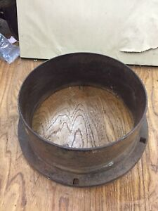 Original Fuller And Johnson Pulley For Antique Hit And Miss Gas Engine Cast Iron