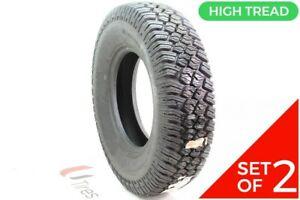Set Of 2 New Lt 235 85r16 Bfgoodrich Commercial Ta Traction 120 116q