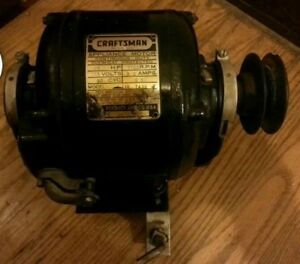 Craftsman Furnace Blower Motor 1 6 Hp 1 Phase Heavy Duty Cast Iron Case