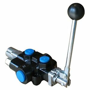 Hydraulic Directional Control Valve 3 way 2 spool 18 Gpm