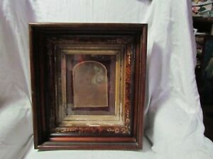 Beautiful Antique Walnut Victorian Eastlake Picture Frame Pic Size 8 X 10 Look