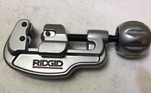 New Ridgid 35s Stainless Steel Tubing Cutter 1 4 1 3 8