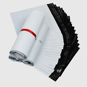 1000 Any Size White Poly Mailers Shipping Bags 2 25 Mil Self sealing Envelopes