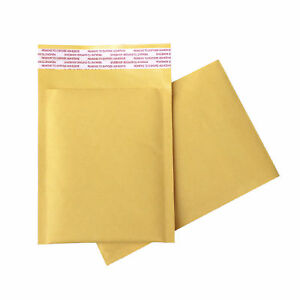 1000 Any Size Brown Kraft Bubble Mailers Shipping Bags Self sealing Envelopes