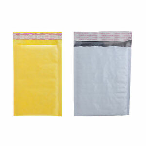 1000 Bubble Padded Shipping Mailer Self sealing Envelopes Kraft poly Varies Size