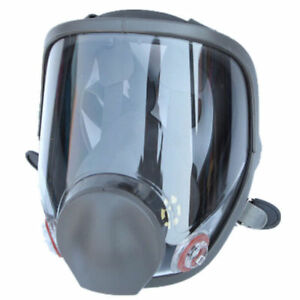 Medium Full Face Gas Mask Painting Spraying Respirator For 3m 6800 Facepiece Us