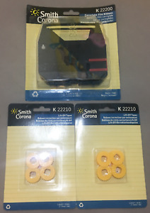 Smith Corona Typewriter Ribbon Lift off Tapes Kk22210 Kk22200 New