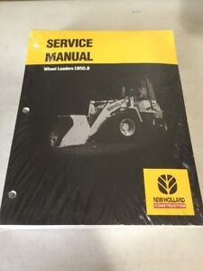 New Holland Lw50 b Wheel Loader Service Manual