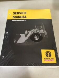 New Holland Lw80 b Wheel Loader Service Manual