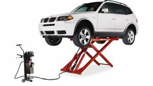 Challenger Lifts Mr6 Portable 6 000 Lbs Capacity Mid Rise Car Lift
