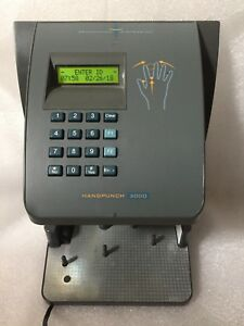 Handpunch 3000 Biometric Time Clock Attendance Terminal Wall Hand Scanner