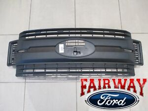 17 Thru 19 Super Duty F 250 F 350 F 450 F 550 Oem Genuine Ford Black Grille New