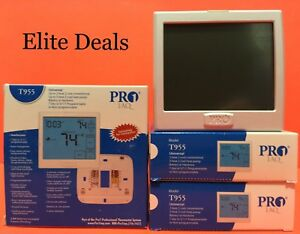 New Pro1 Iaq T955 Universal 3h 2c Hp 2h 2c Conventional Touchscreen Thermostat
