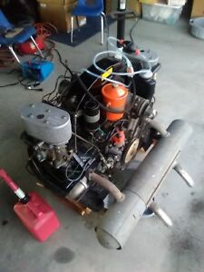 Porsche 912 Engine 1969 Rebuilt Solex Carbs Complete Turn Key Motor Big Bore