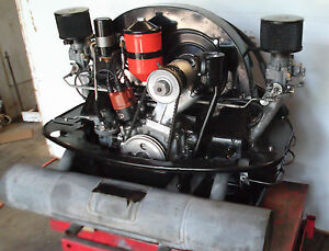 Porsche 356 A Engine 1957 356a Complete 1600 Super Turn Key Motor 1600s